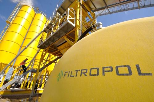 Mobilne i stacjonarne wytwórnie betonu produkowane przez Filtropol